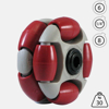 rotacaster-48mm-double-90a-firm-polyurethane-roller-6mm-acetal-bearing
