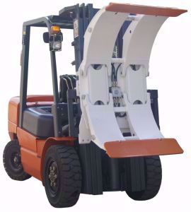 forklift paper roll clamp